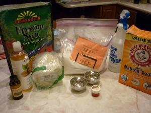 Bath Bomb Ingredients