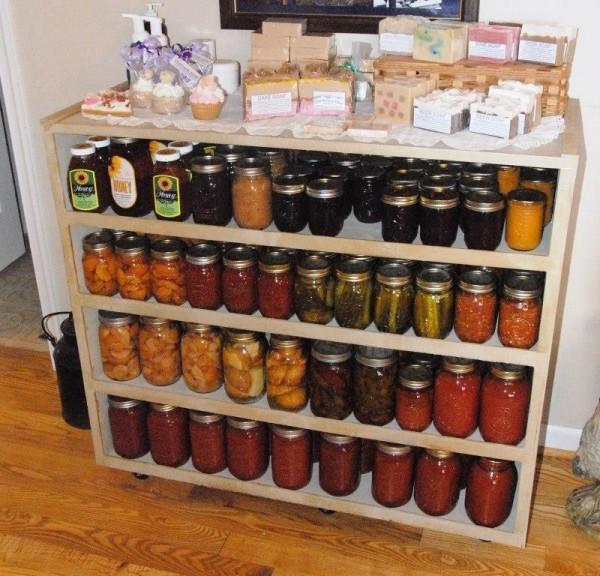 Church View Farm canned food storage