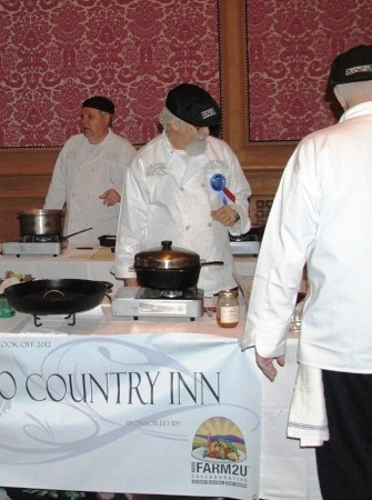 On the Cafe Cimino Team Cast Iron Cook-Off 2012