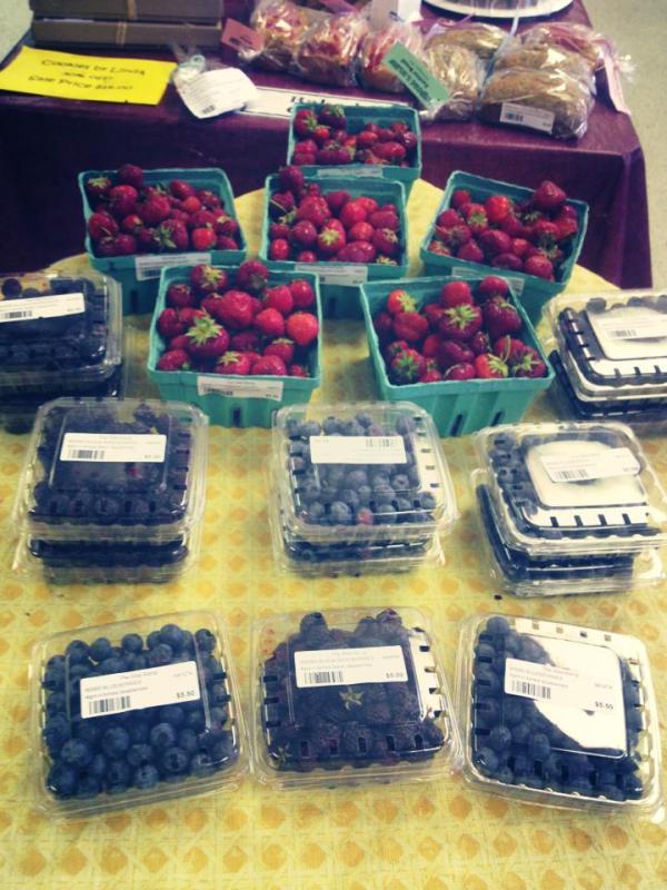 berries June 2013